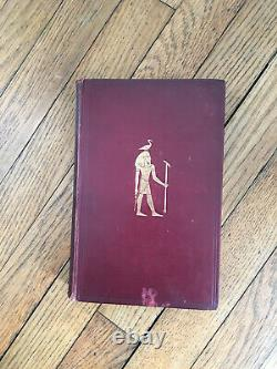 The mummy Old, 1st Edition Rare antique Book EA Wallis Budge (1857 1934)