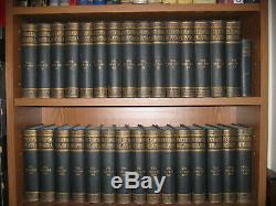 ULTRA RARE ANTIQUE 1897 Encyclopedia Britannica in it's Complete 30 Volume set