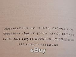 Unbelievable and rare antique books 3 Volumes of Homer's Odyssey 1905