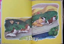 VINTAGE 1963 THE POKY LITTLE PUPPY A Big Golden Book In Full Color Rare