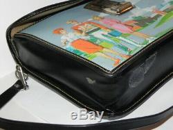 VINTAGE RARE HTF Barbie Ken Midge High-School Carrying Case School Book Tote Bag