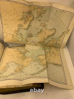 Very Rare Antique Murray Smith Arctic Expeditions First Edition 1877