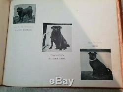 Very Rare Antique Pug Book dated 1902