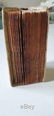 Very rare & small book 1624 famous Dutch printer Blaeu, SENECAE TRAGEDIAE