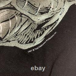 Vintage 1997 Spawn Cygor Todd McFarlane Comic Book Promo Shirt Rare Release