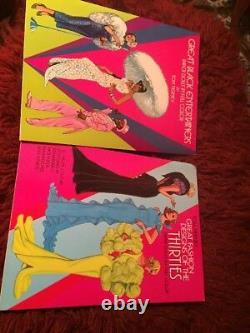 Vintage 24 Rare Paper dolls Book Sets Lot Large Variety Unused Great Price