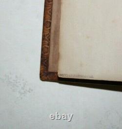 Vintage Antique 1786 SECRET Book Safe ZAEHNSDORF Fine Binding RARE Hollow