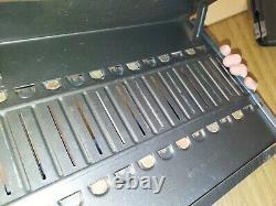 Vintage Harley Davidson Dealer Countertop Service Parts Manual Book Rack Rare