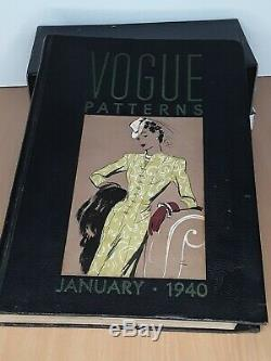 Vogue 1940 Shop/Store Counter Pattern Book Great for Study RARE
