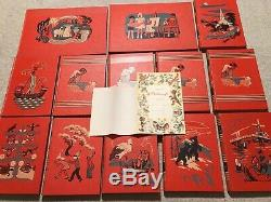 Vtg CHILDCRAFT Books withRare GIFT PAGE & THANK YOU NOTE from FIELD ENTERPRISE INC