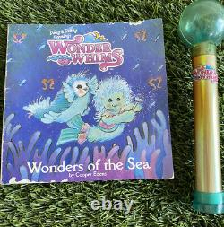 WONDER WHIMS by Doug Debbie Henning 1985 Seashell Angelfish Wand & Book Rare