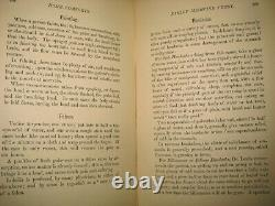 X Rare Book Victorian House Guide Medical Furnishings Cookbook Beauty Recipes